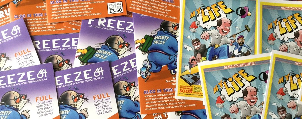 FREEZE64 – Issue 1 – Monty on the Run | FREEZE64 magazine