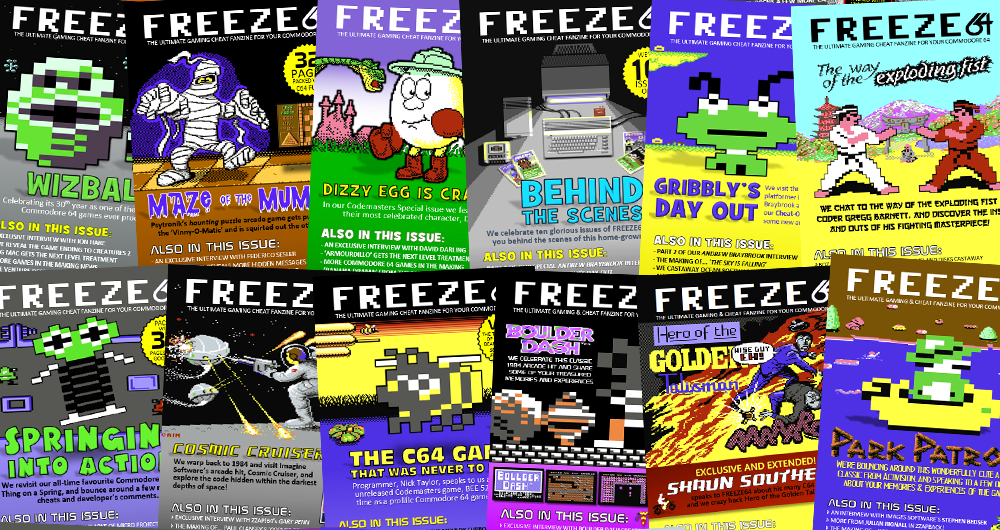 FREEZE64 magazine | THE ULTIMATE GAMING & CHEAT FANZINE FOR YOUR